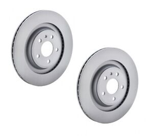 Zimmermann OE Coat Z Brake Rotor Rear Pair 150.1289.20 fits BMW 3 Series 318 ...