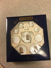 Mj Hummel Reutter Porzellan Porcelain Miniature Tea Set From Germany