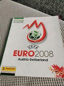 Panini Euro 2008 Empty Album