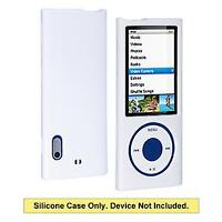 AMZER Polished Snap-On Crystal Hard Case Cover Fit For iPod Nano 5th Gen - White