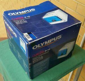 Vintage Olympus Camedia P-10  P10 Digital Photo Printer in Original Packaging