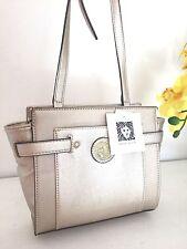 NWT Anne Klein Bag Clean Scene Metallic Gold Crossbody Bag Purse MSRP $65
