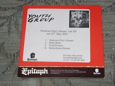 Youth Group:  Someone Else's Dream  CD Single Epitaph promo  NM