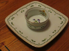 Victorian Garden Private Collection Georges Briard cheese&cracker plate veg&dip