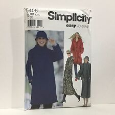 New Uncut Simplicity Pattern 5406 BB Z Easy To Sew Sz L XL Free Shipping