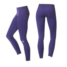 Adidas Long Purple Fitness Running Excercise Womens Tights AY5906 A46A