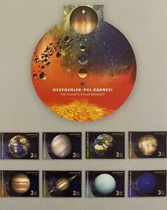 TURKEY / 2020 (STAMP BOOKLET) -THE PLANETS (Sky, Space, Planet, Astrology), MNH