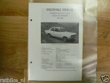 VA19-VAUXHALL VIVA HB STANDAARD DE LUXE SL, SL90 COACH