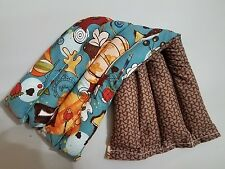 rice flax seed bag, heating/cooling pad, body pumpkins, mushrooms
