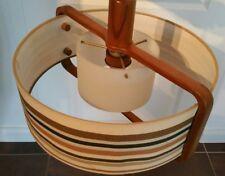 Lampe Teak - Lampe 60er 70er  Hängelampe midcentury  Kult