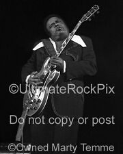 FREDDIE KING Photo 11x14 Inch Concert Photo in 1973 by Marty Temme 1A