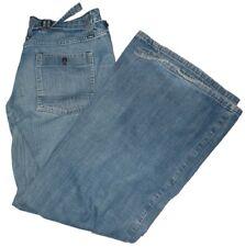 G-Star Damen Jeans Blau Wood XL Flare WMN (Stone washed look) W31 / L34