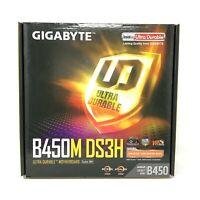GIGABYTE B450M DS3H AM4 B450 SATA 6Gb/s USB 3.1 Micro ATX AMD Ryzen Motherboard