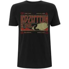 OFFICIAL LICENSED - LED ZEPPELIN - ZEPPELIN AND SMOKE T SHIRT - ROCK PAGE PLANT
