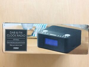 Tesco New DAB &  FM Radio  DCR1701 Black
