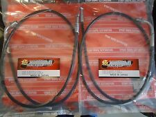 NEW Suzuki GT750 Both Throttle Cables LMBA Models Kettle Water Buffalo Cable