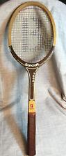 "BANCROFT Wimbledon Bjorn Borg Model Vintage Tennis Racquet 4 5/8"""