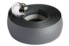 MASSI Bicycle handle bar tape Carbon Basic SILVER