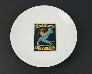 "Pottery Barn Vintage Cocktail Mandarinetto Isolabella Salad/Dessert Plate 8"""