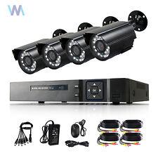 8CH H.264 1080P HDMI DVR 700TVL Night Outdoor CCTV Camera Home Security System