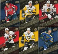 2017-18 UPPER DECK TIM HORTONS STAT MAKERS lot of 6 DIFFERENTS CARDS LOT 101