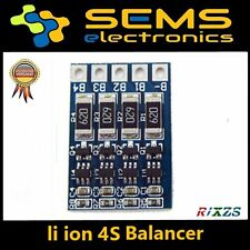 4s lipo Li-ion Board 18650 BMS balance PCB Battery Protection 4.2v 16.8v