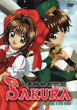 Cardcaptor Sakura DVD Complete TV Series (Eps 1-70) - US Seller Ship FAST
