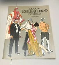 RUDOLPH VALENTINO Paper Doll Book by Tom Tierney 1979 UNUSED Dover USA