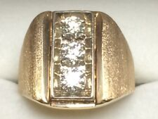 Gents 14kt yellow gold diamond mounting (OG480)