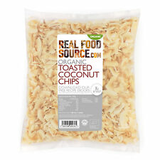 RealFoodSource -  Organic Toasted Coconut Chips 500g
