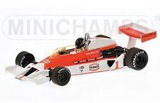 Minichamps 530 774301 McLaren Ford M26 F1 AUTO DIECAST James Hunt 1977 1:43rd