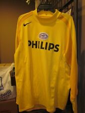 Nike HOLLAND PSV Eindhoven PHILIPS Soccer Shirt Jersey XL Yellow Long Slv Goalie