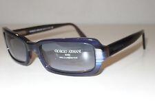 f502106483 Occhiali da sole da donna con montatura in blu Giorgio Armani con ...