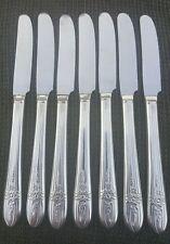 Triumph Pattern WM Rogers MFG Co. Silverplate Hollow Knives