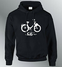 Sweat shirt Hoodie personnalise Velo Solex homme youngtimer vintage sweater