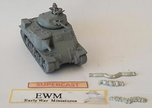 Early War 20mm (1/72) British M3 Grant Tank with Cast Turret