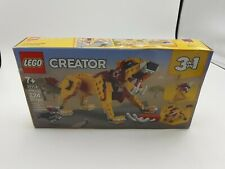 Lego Creator 3in1 Wild Lion 31112 Building Kit (224 Pieces)