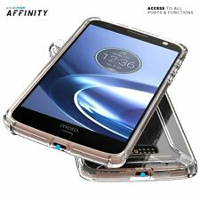 Case For Moto Z/Z Droid Edition POETIC 【Affinity】Protective Bumper Case Clear