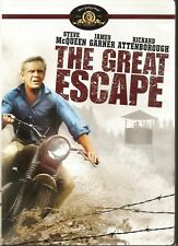 The Great Escape DVD Brand New Factory Sealed STEVE MCQUEEN Widescreen SEALED
