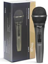 Stagg SDMP15 Dynamic Handheld Vocal Microphones *Excellent Quality*