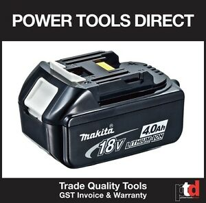 NEW MAKITA 18V BATTERY CORDLESS BL1840B 4AMP BATTERY (1 OFF) WITH FUEL GUAGE