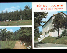 SAINT-AGREVE (07) AIRE de JEUX à l'HOTEL FAURIE