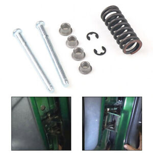 Front & Rear Door Hinge Pin with Spring and Bushing Kit For 94-04 Chevy S10 S15