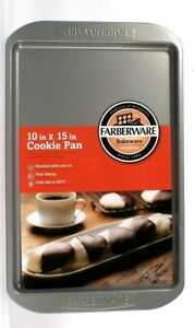 Farberware Bakeware Non Stick In & Out 10 In X 15 In Cookie Pan Easy Clean Up