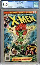 Uncanny X-Men #101 CGC 8.0 1976 3807226001 1st app. Phoenix, Black Tom Cassidy