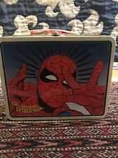 The Amazing Spiderman Marvel Tm Tin Lunchbox 1998