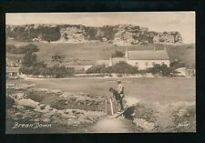 Somerset BREAN DOWN Frith's Series c1920/30s? PPC