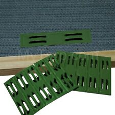 Coolaroo Green Timber Fasteners (50 Pieces) - Mesh Fasteners