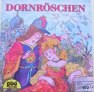 Altes Pixi Buch Nr. 633 - Dornröschen - 2. Auflage 1993