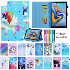 """Samsung Galaxy Tab A 8"""" with S Pen Smart Magnetic Flip Leather Stand Case Cover"""